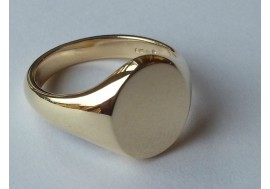 "9ct ""Classic Oxford Henely""  Heavyweight, 13 x 16mm oval, (Larger gents)"