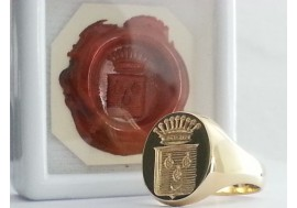 "The ""Oxford Seal"" Available in all sizes and engraved deep in reverse with a wax impression"