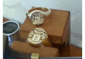 """The Oxford Classic Wedding Combination"" Two Signet rings ordered"