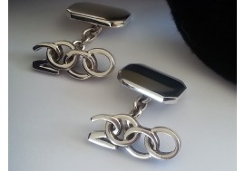 Links of London hallmarked sterling silver cuff links