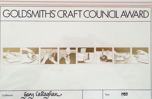 Goldsmiths Craft Council Award